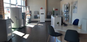 Salle expo entreprise Eury Charmes